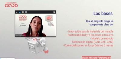 Azul Ogazón, Directora de MEM Industrial- Tecno Mueble Internacional