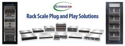 Rack Scale Plug and Play Portfolio for Cloud, AI, 5G/Edge, and High-Performance Computing (HPC)