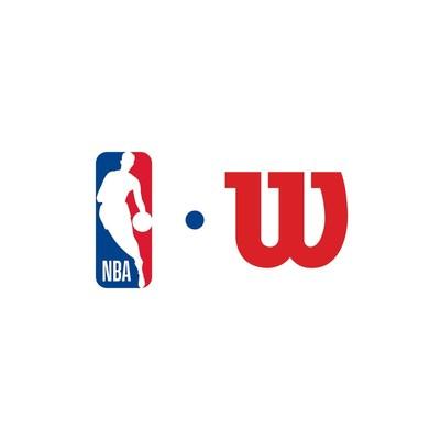 NBA and Wilson Logo Lockup