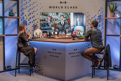 CANADA'S JAMES GRANT TAKES THE NUMBER 1 SPOT AT DIAGEO WORLD CLASS BARTENDER OF THE YEAR GLOBAL FINALS 2021