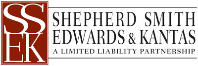 Shepherd Smith Edwards & Kantas LLP. (PRNewsFoto/Shepherd Smith Edwards & Kantas LLP) (PRNewsFoto/SHEPHERD SMITH EDWARDS...)