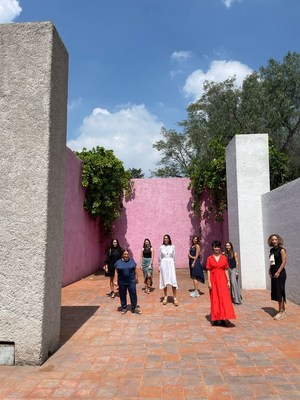 Mujeres creativas AD en Casa-Estudio Luis Barragán
