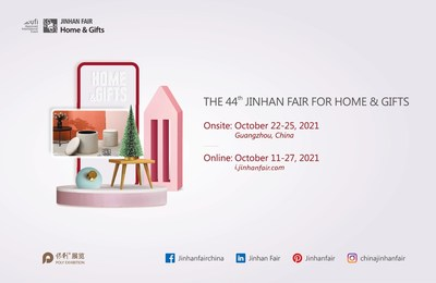 La 44.ª Feria Jinhan de Hogar y Regalos se traslada al formato en línea y presencial (PRNewsfoto/Jinhan Fair for home & gifts)